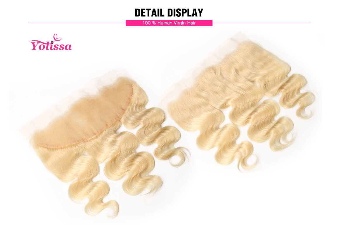613 13x4 Body Wave Human Hair Lace Frontal Hair