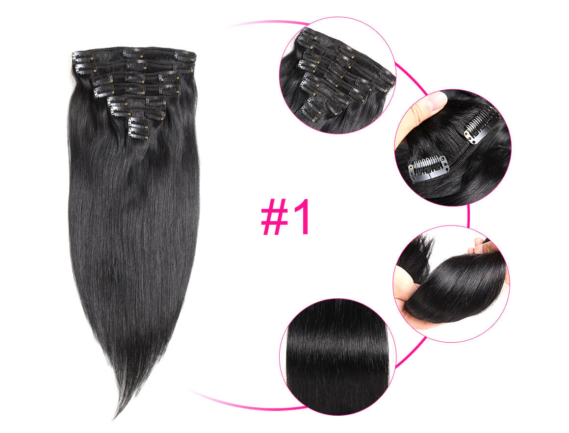 10-22inches Straight Human Hair Extensions