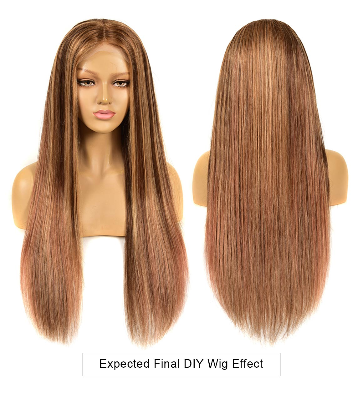 expected DIY piano lace wigs