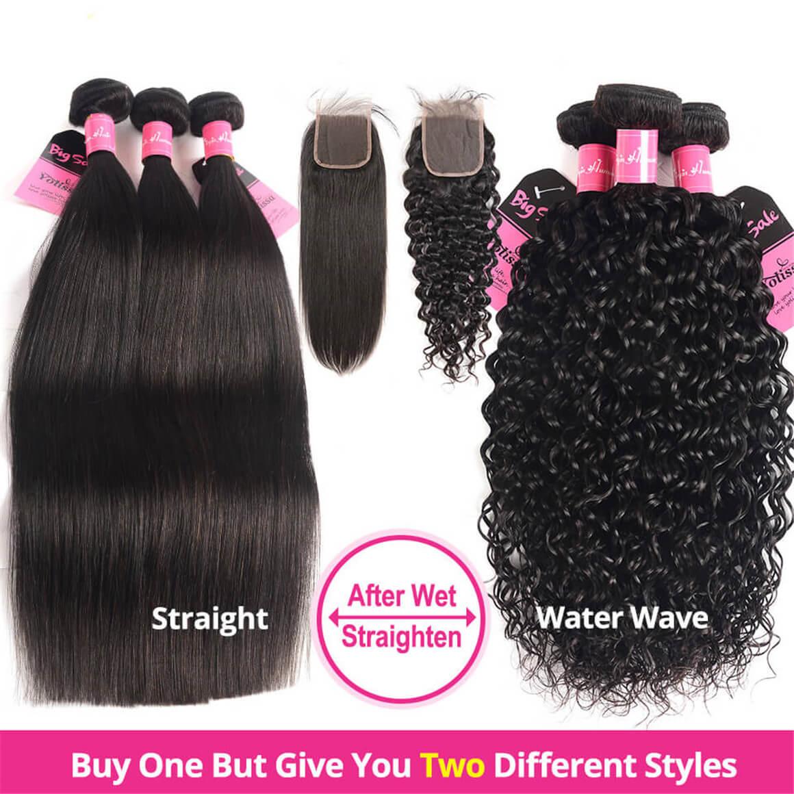 Wet And Wavy Water Wave Hair Bundles