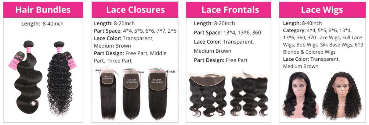 Wide Selection of Hair Products
