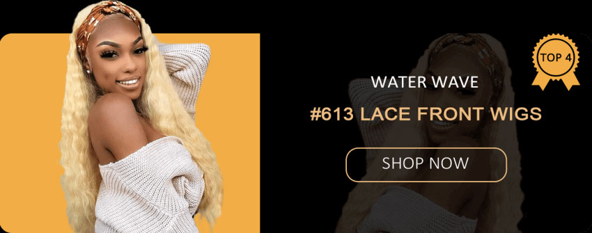 water wave #613 lace front wigs