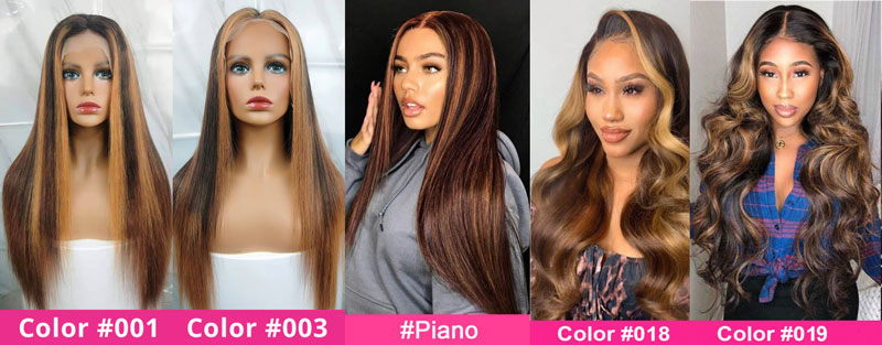 Highlight Lace Part Wigs