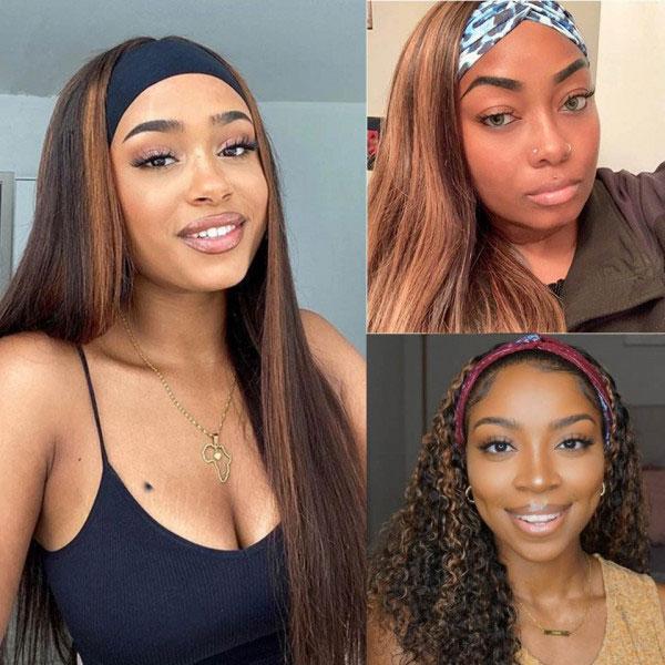 Highlight Headband Wigs