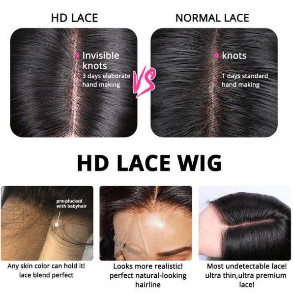 HD lace vs normal lace