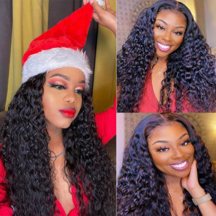 water wave 13*4 lace front wigs