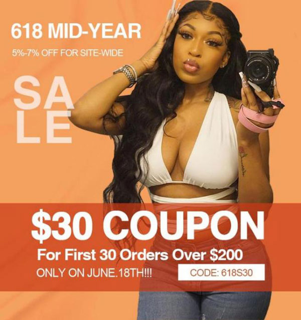 618 Mid-Year Sale