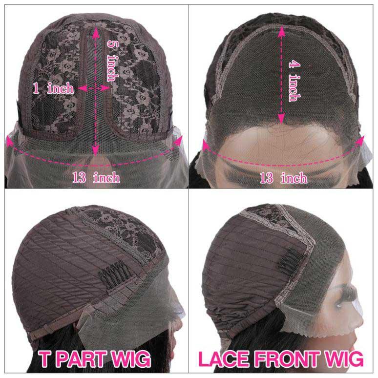 T Part Wigs VS Lace Front Wigs
