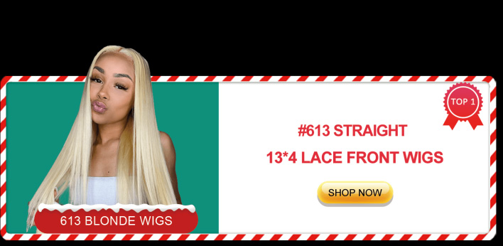 #613 straight 13x4 lace front wigs