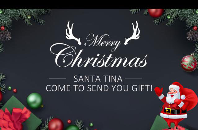 Come To Tina's Live Get Christmas Gift & Join In Lucky Draw