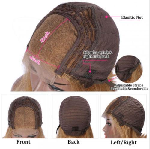 #27 4x4 lace closure wigs