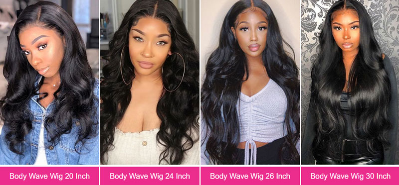 HD Body Wave Lace Wigs