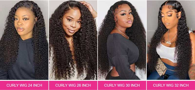 curly 13x4 lace front wigs