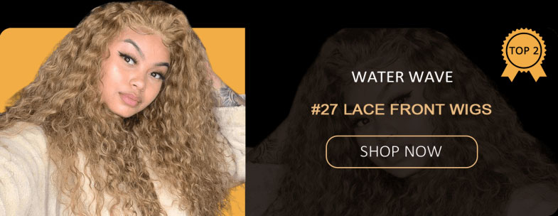 water wave #27 lace front wigs