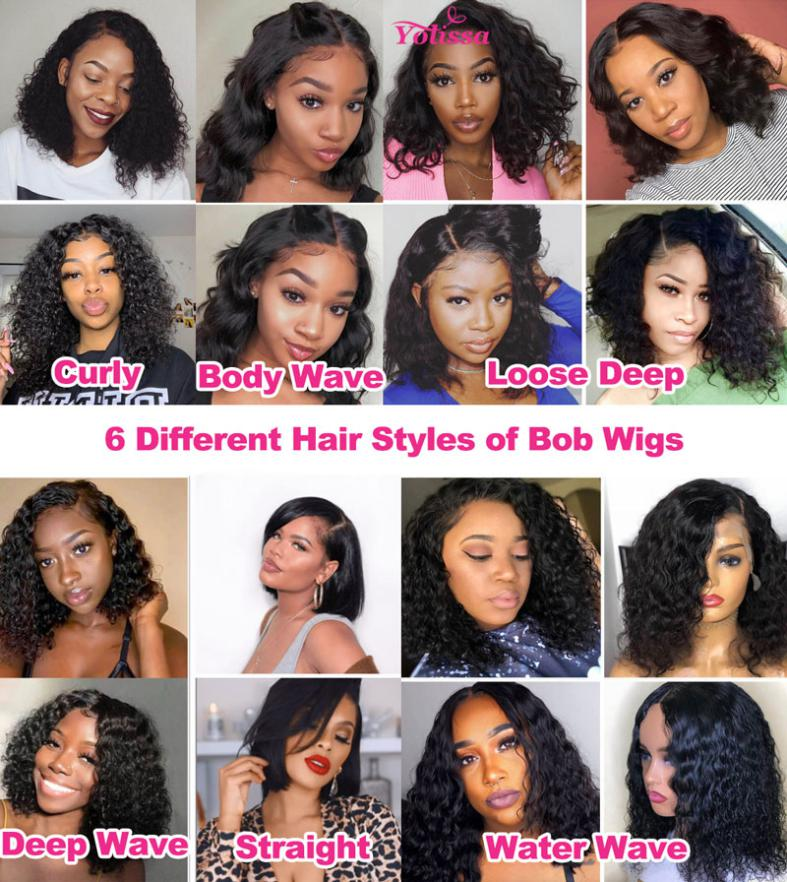 The advantages of Bob Style Wigs