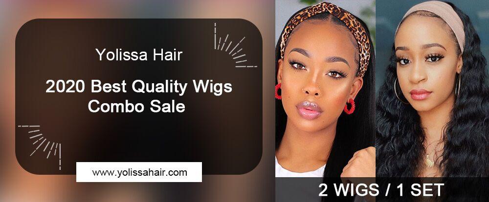 Yolissahair 2020 Best Quality Wigs Combo Sale