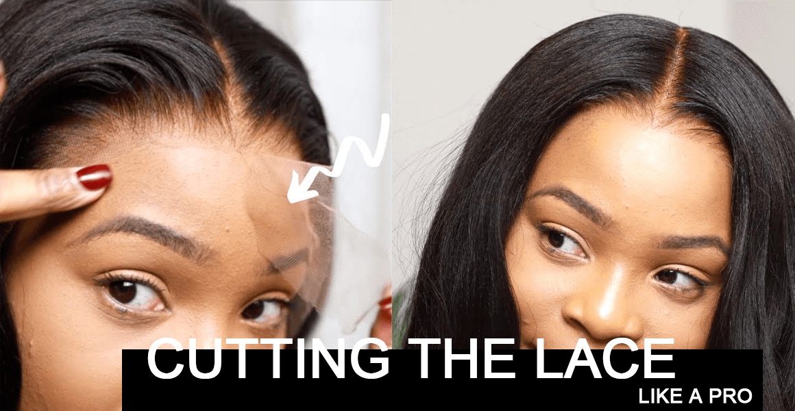 cut the lace of lace wigs