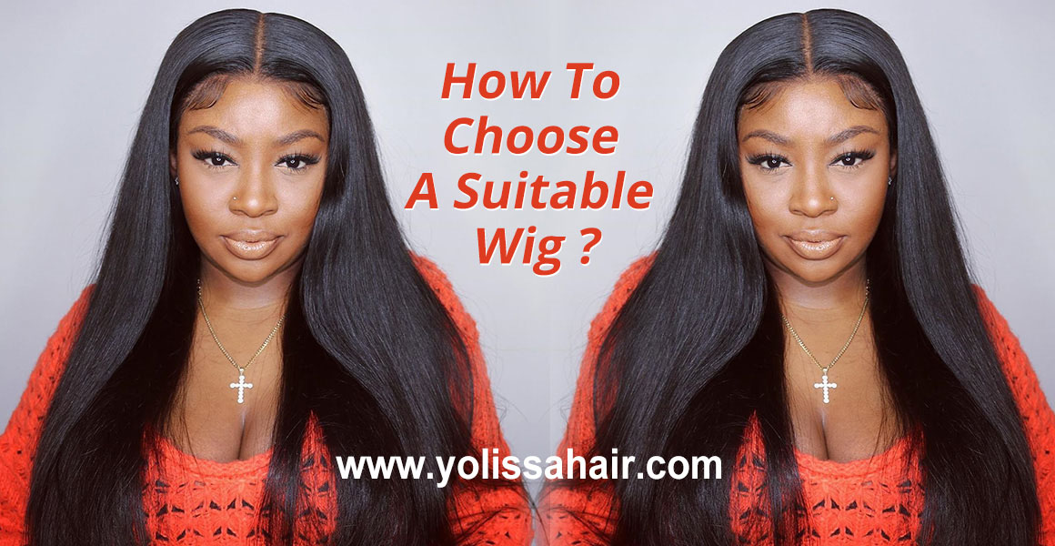 how to choose a suitable lace wig