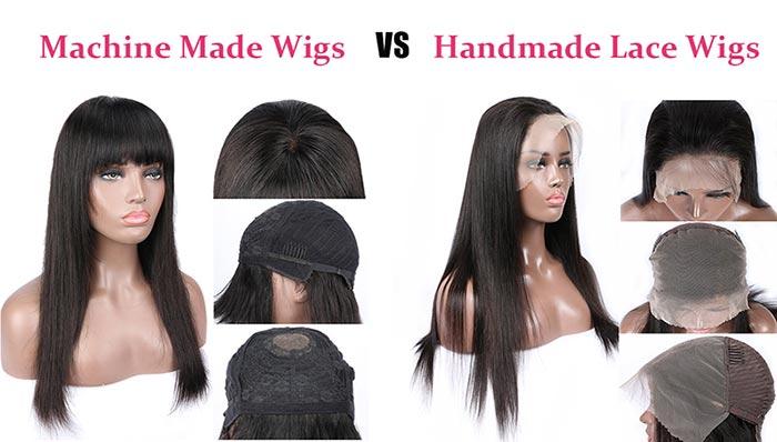 machine made wigs vs handmade wigs