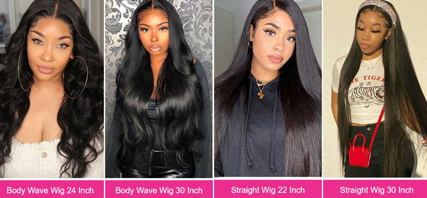 HD Lace Wigs Also Have Lace Color