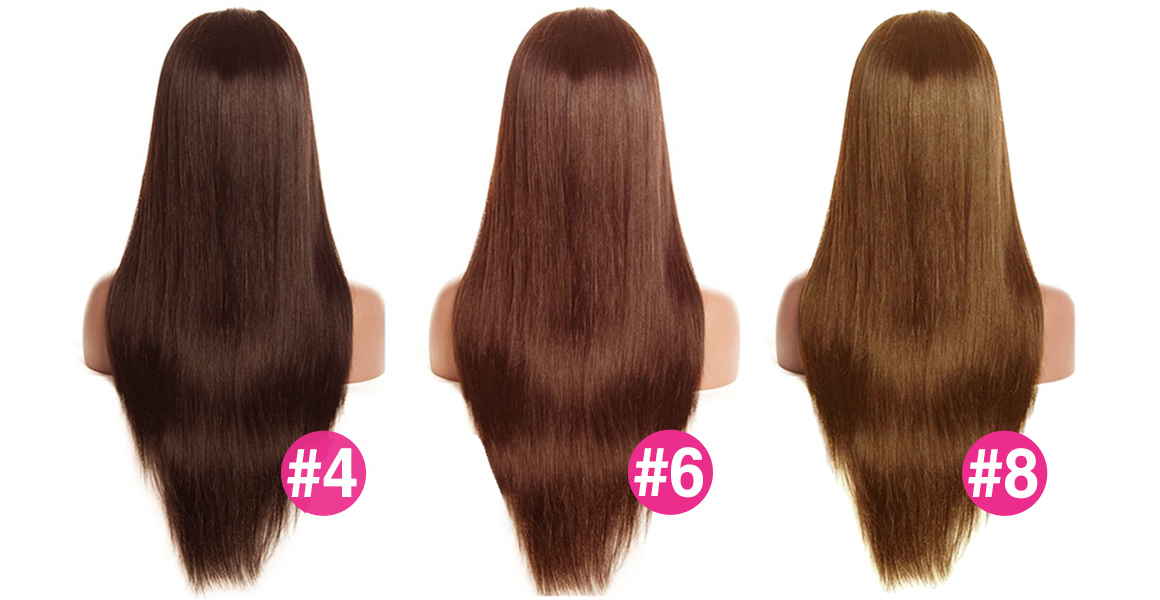 4/#6/#8 New Arrival Colored Wigs