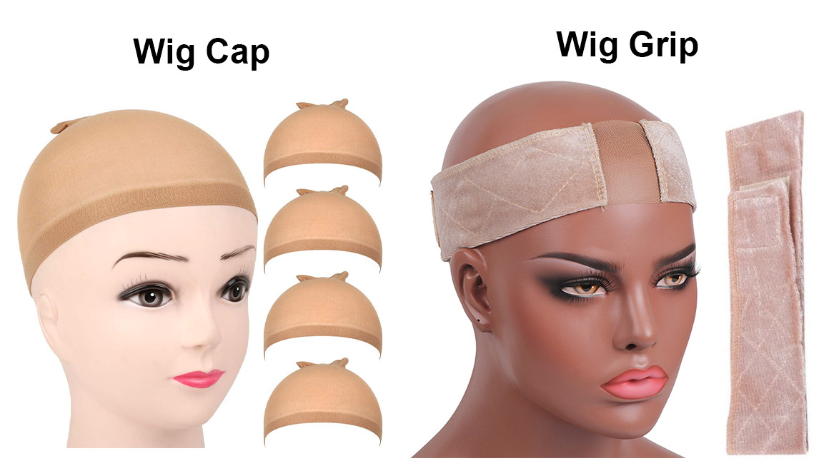 wig cap and wig grip