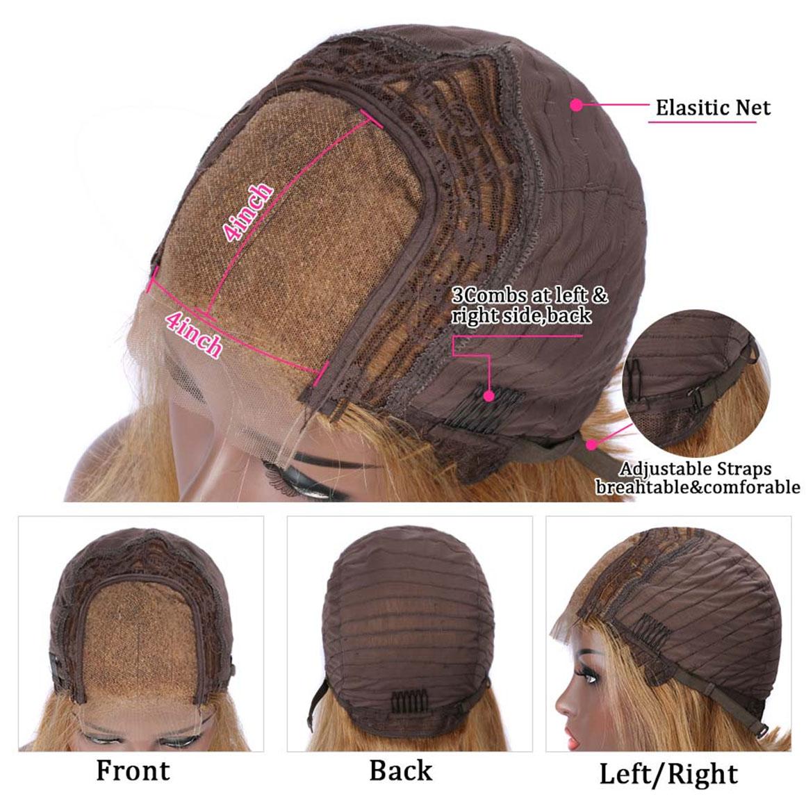 #27 lace closure wig