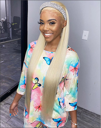 613 blonde hair lace front wigs